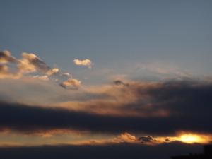 レンズベビーで雲を撮る