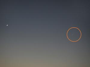アイソン彗星撮影